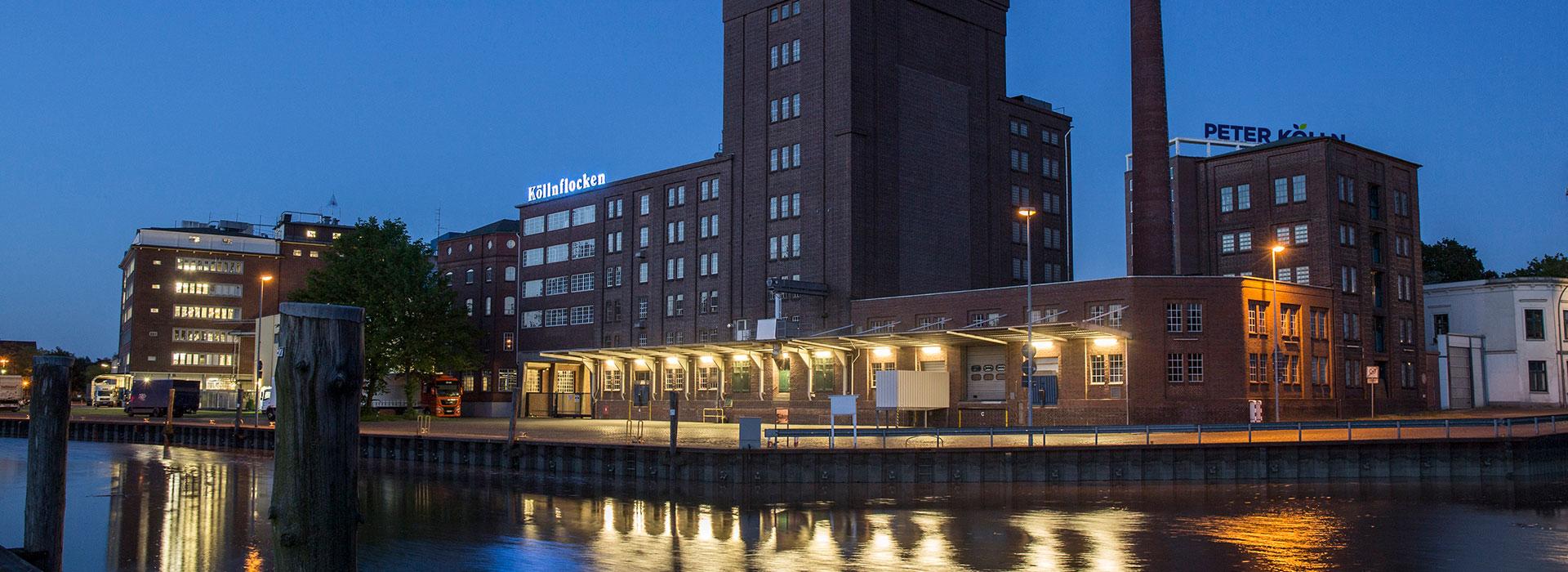 Company Premises Peter Koelln by Night