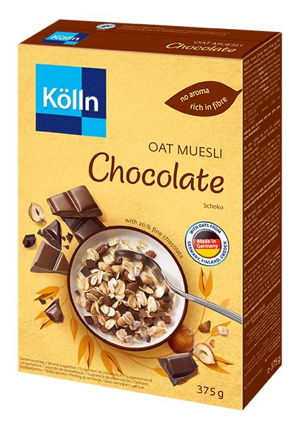 Koelln Oat Muesli Chocolate package