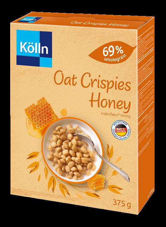 Koelln Oat Crispies Honey Pack