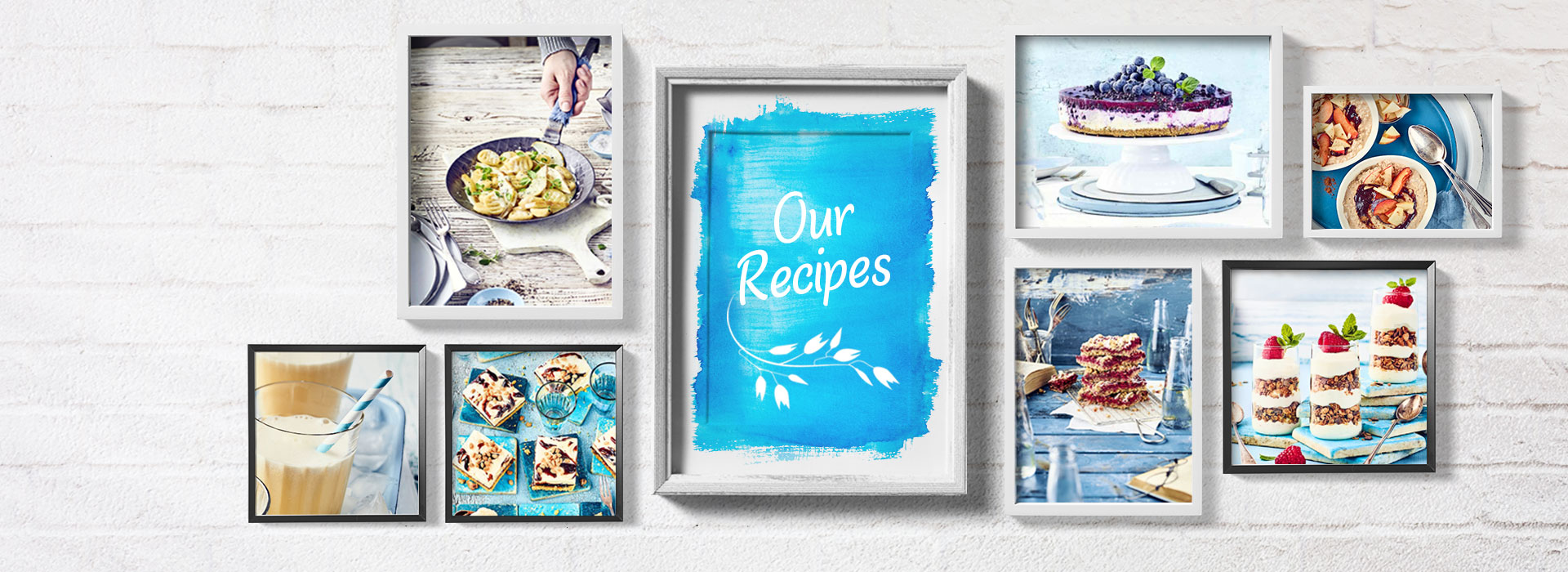 Koelln pictures showing different recipes with oats